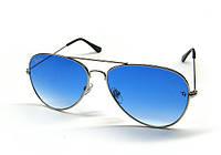 Очки солнцезащитные Авиаторы голубые Ray Ban