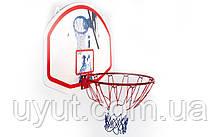 Щит баскетбольный с кольцом и сеткой  (d-42см)