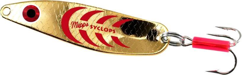 Блесна Mepps SYCLOPS золото/красный 3/26g (30917026)