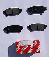 Колодки тормозные задние RX, GS, IS, PRIUS