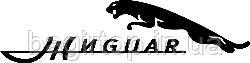 Вінілова наклейка на авто -Жигуар