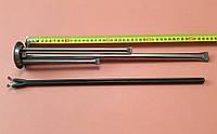 Фланец-колба (нержавейка) Ø63мм + сухой тэн 1200W (с 2-мя трубками под термостаты) для бойлеров Thermex
