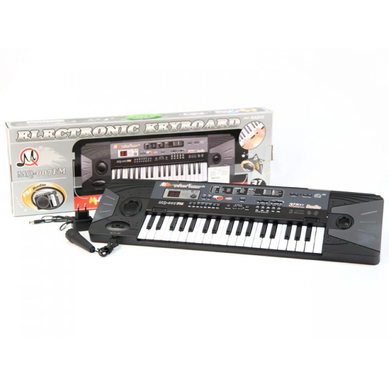 Детское пианино cинтезатор MQ 007 с FM радио