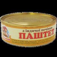ТМ Сто пудов Паштет 240 г Из индюшинной печени 12 шт/уп