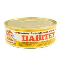 ТМ Сто пудов Паштет 240 г Печеночный со слив маслом 12шт/уп