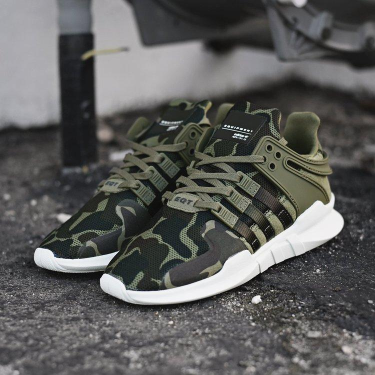 new product 1e19a 3ccd0 Кроссовки Adidas EQT Support ADV Camo Olive