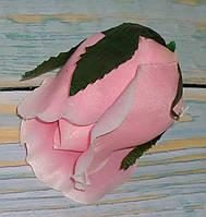 Головка бутона розы розовый