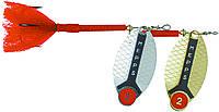 Блесна Mepps LUSOX FLUO серебро /красный 2/16g  (30327002)