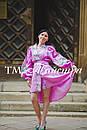 Платье бохо выпускное вышитое, вышиванка лен, этно, стиль бохо шик, вишите плаття вишиванка, фото 2