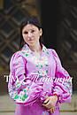 Платье бохо выпускное вышитое, вышиванка лен, этно, стиль бохо шик, вишите плаття вишиванка, фото 4