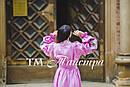 Платье бохо выпускное вышитое, вышиванка лен, этно, стиль бохо шик, вишите плаття вишиванка, фото 5