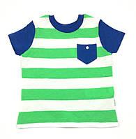 Футболка для мальчика Бемби Моряк, зеленый (р.80,86,92,98)