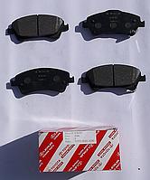 Колодки тормозные передние Avensis от 2008г.-
