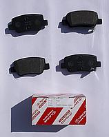 Колодки тормозные задние Avensis от 2008г.-