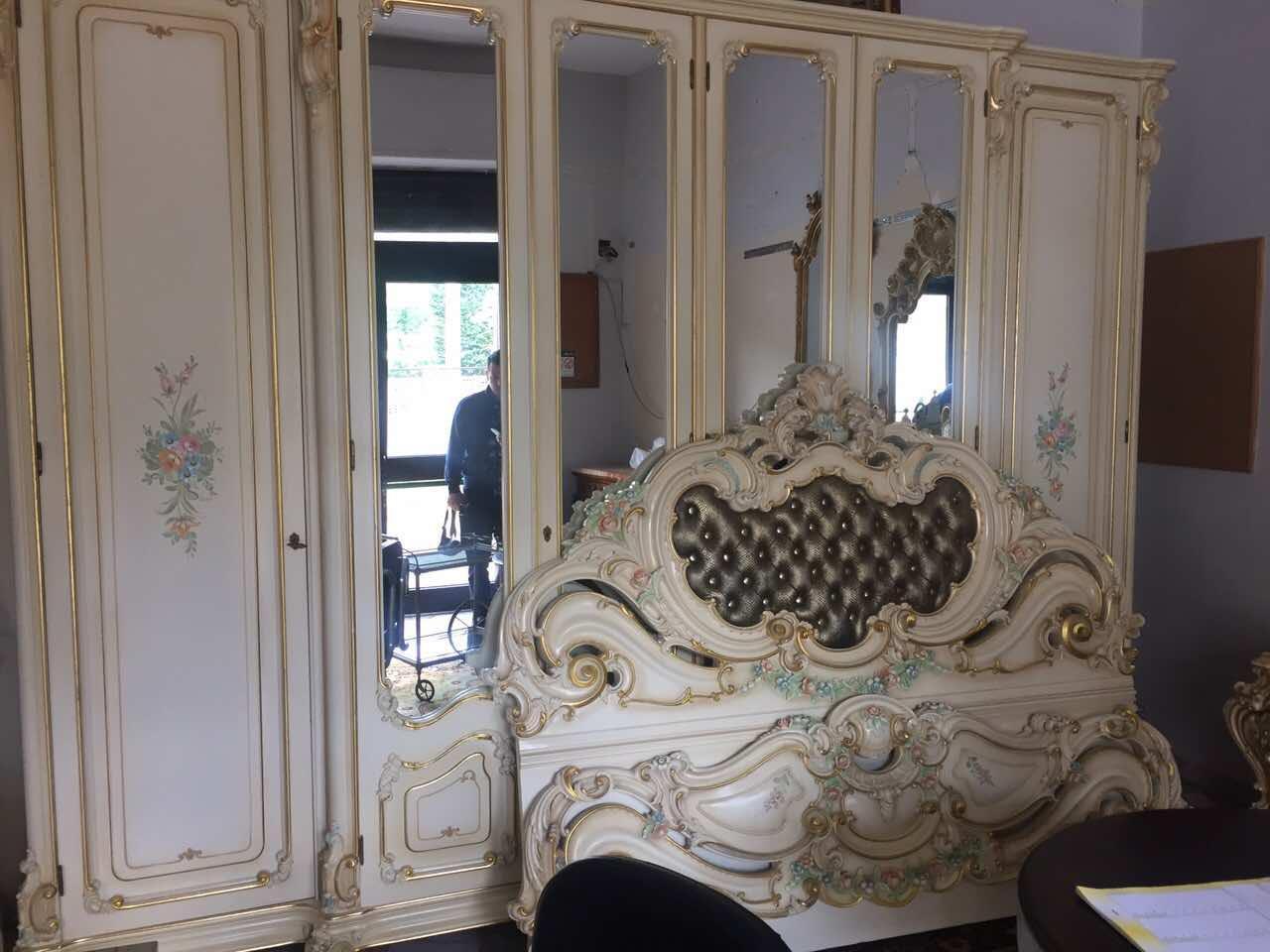 роскошная спальня Silik спальня в стиле барокко Silik италия