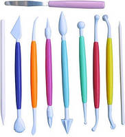 Набор инструментов (стеков) для мастики