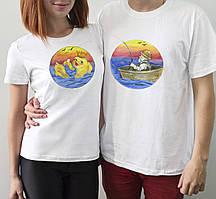 "Парні футболки ""Рибак і рибка"""