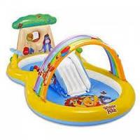 Детский надувной игровой центр Intex 57136