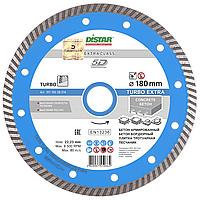 Круг алмазный Distar Turbo Extra TS55H 180 мм отрезной диск по высокоармированному бетону