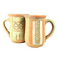Чашки керамические ручной работы 2шт 9317