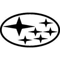 Виниловая наклейка на авто - субару 2