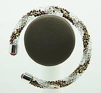 1130 Модные браслеты жгуты из стекляруса
