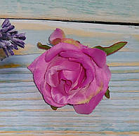 Головка розы фиолетовая