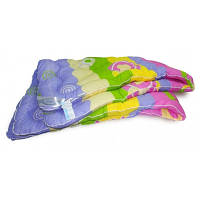 Одеяло шерстяное Эконом 200x220см, овечья шерсть 100%, Leleka-Textile