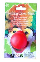 Нос клоуна резиновый