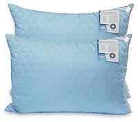Подушка Экстра стеганая, антиалергенное волокно-шарики, 50х70см, Leleka Textile