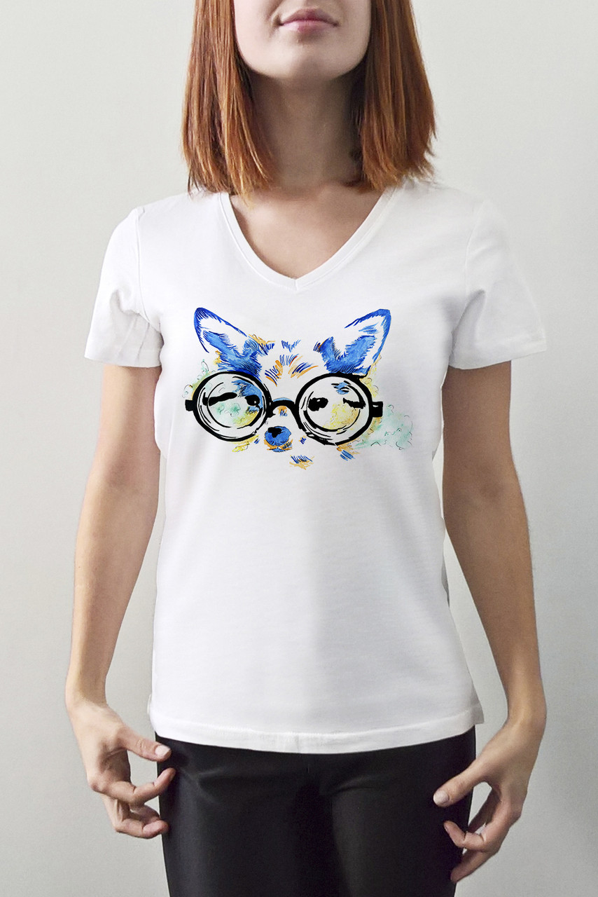 "Женская футболка ""Фенек"""