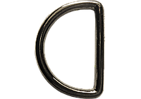 Кольцо 40428 темный никель