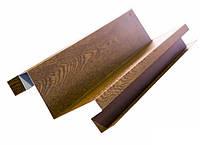 Угол внутренний для металлического сайдинга бревно