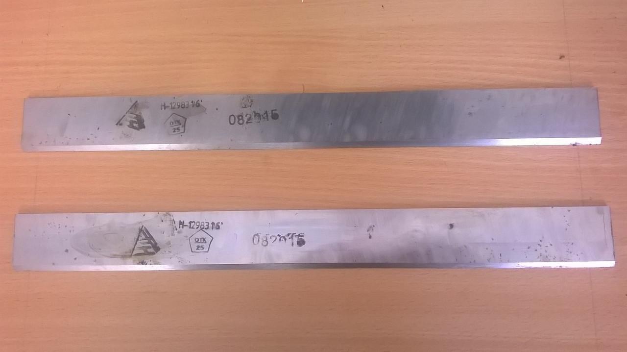 Нож для фрезерования древесины 810х40х3 (фуговальные)