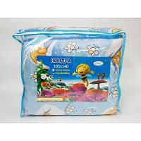 Одеяло детское Оптима 140x105см, антиалергенное волокно, Leleka-Textile