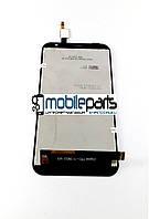 Оригинальный Дисплей (Модуль)+Сенсор (Тачскрин) для Fly FS551 (Черный)