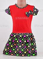 Платья для девочки Турция. Flink Kids 07-1-R. Размер на 6 лет.
