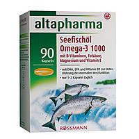 Altapharma Seefischöl Omega-3 1000 - Рыбий жир Омега-3 1000, 90 капсул, 155,7 г