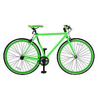 """Велосипед 26"""" FIX26C701-1 сталь HI-TEN, трекові колеса 700-23 с, подвійний обод, салатовий"""