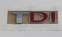 Надпись TDI, фото 1