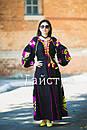 Платье женское бохо вышиванка лен,4 клина, стиль бохо шик, вишите плаття вишиванка, Bohemian,стиль Вита Кин, фото 3