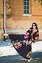 Платье женское бохо вышиванка лен,4 клина, стиль бохо шик, вишите плаття вишиванка, Bohemian,стиль Вита Кин, фото 4