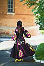 Платье женское бохо вышиванка лен,4 клина, стиль бохо шик, вишите плаття вишиванка, Bohemian,стиль Вита Кин, фото 5