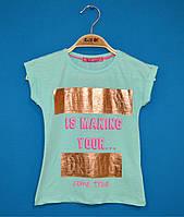 Детские футболки для девочек 3-6 лет, Модные детские футболки