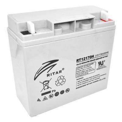 Батарея к ИБП Ritar AGM RT12170, 12V-17Ah (RT12170), фото 2