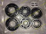 Комплект подшипников КПП Заз 1102 1103 таврия славута нового образца (42305 со втулкой) (6 штук), фото 2
