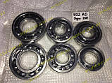 Комплект подшипников КПП Заз 1102 1103 таврия славута нового образца (42305 со втулкой) (6 штук), фото 4