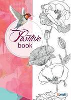 Ежедневник женский ProfiPlan Positive book Птица на английском языке Красный А5  Блокнот недатированный