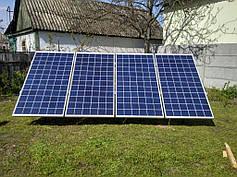 Автономная солнечная электростанция для дачи, г. Киев, Осокорки