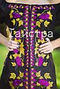 Стильное вечернее платье бохо вышиванка лен, этно, стиль бохо шик, вишите плаття вишиванка,выпускное платье, фото 2